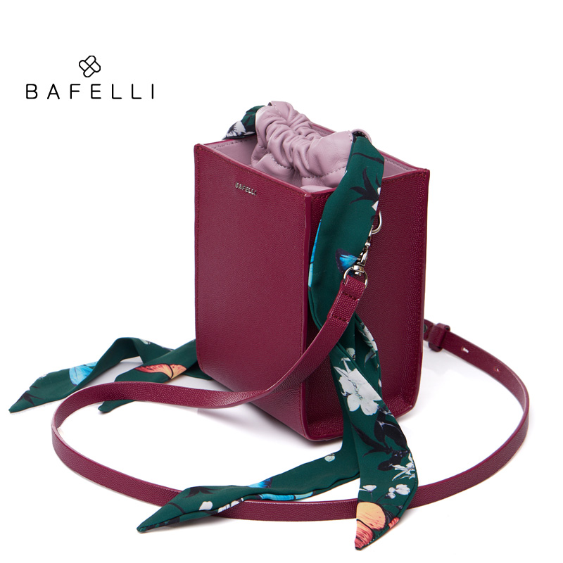 BAFELLI womens bags Flap Box shoulder bag Brand luxury Fashion Crossbody Bags Red bag bolso bandolera mujer bolsa femininaBAFELLI womens bags Flap Box shoulder bag Brand luxury Fashion Crossbody Bags Red bag bolso bandolera mujer bolsa feminina