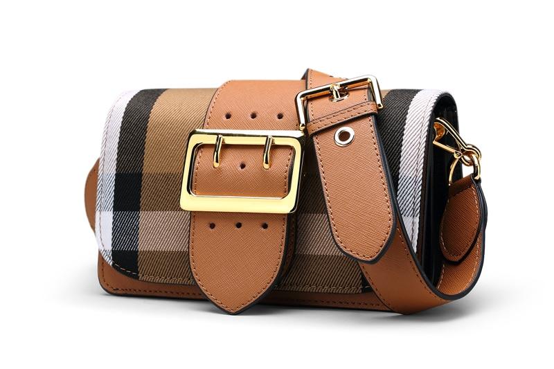 الأزياء جلد طبيعي الإناث شبكة حقيبة كتف أحدث جلد البقر المرأة حقيبة عالية الجودة Crossbody حقيبة السيدات حقيبة-في حقائب قصيرة من حقائب وأمتعة على  مجموعة 3