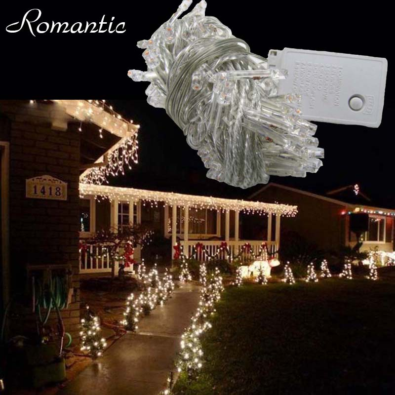 100m 600leds Led String Lights Warm White Outdoor Waterproof Tree Holiday Lighting Home