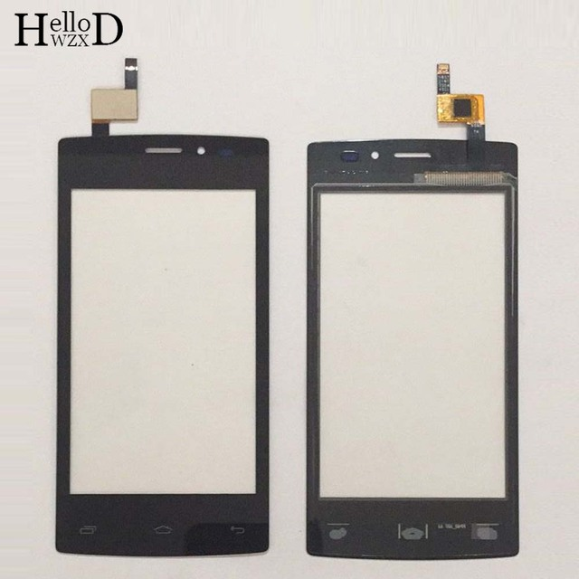 """4.0 """"Mobiele TouchScreen Touch Screen Voor Tele2 mini Touch Screen Glas Digitizer Voor Glas Panel Lens Sensor Protector Film"""