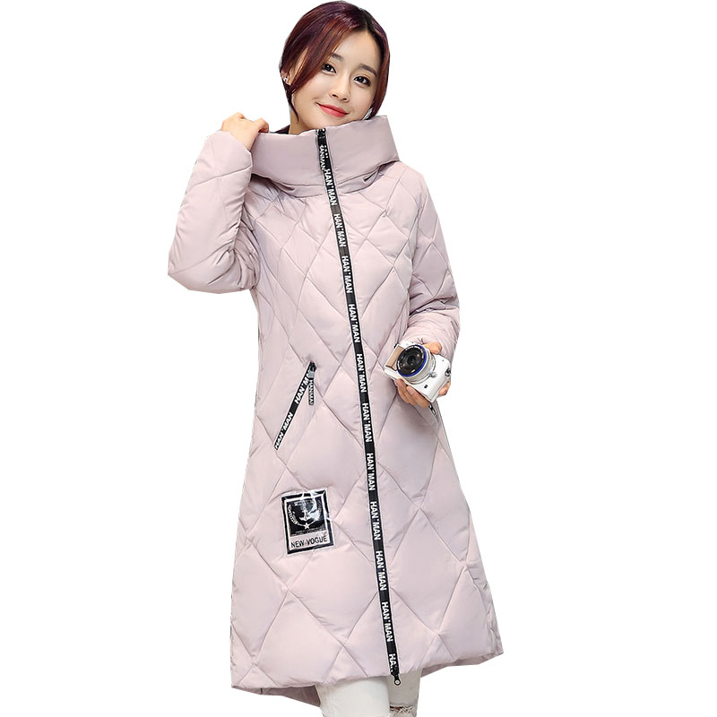 Luxury Brand Women Down Jackets And Coats 2016 Winter Warm Overcoat Fashion Hooded Cotton Padded Thicken Outerwear CT213  brand new 2015 men fur hooded cotton padded coats fashion winter women thicken jackets couples overcoats outerwear h4395