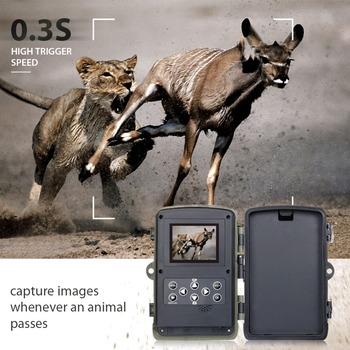 Wireless Motion Activated Trail Camera 16MP Night Vision 1