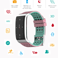 e08 smart band swimming Heart Rate Tracker sports ECG PPG wristband pedometer pulsometer fitness bracelet pressure measurement