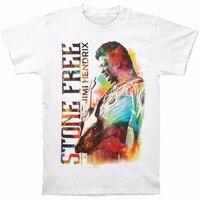Print Casual T Shirt Brand Design Men Jimi Hendrix Men S JH Stone Free T Shirt