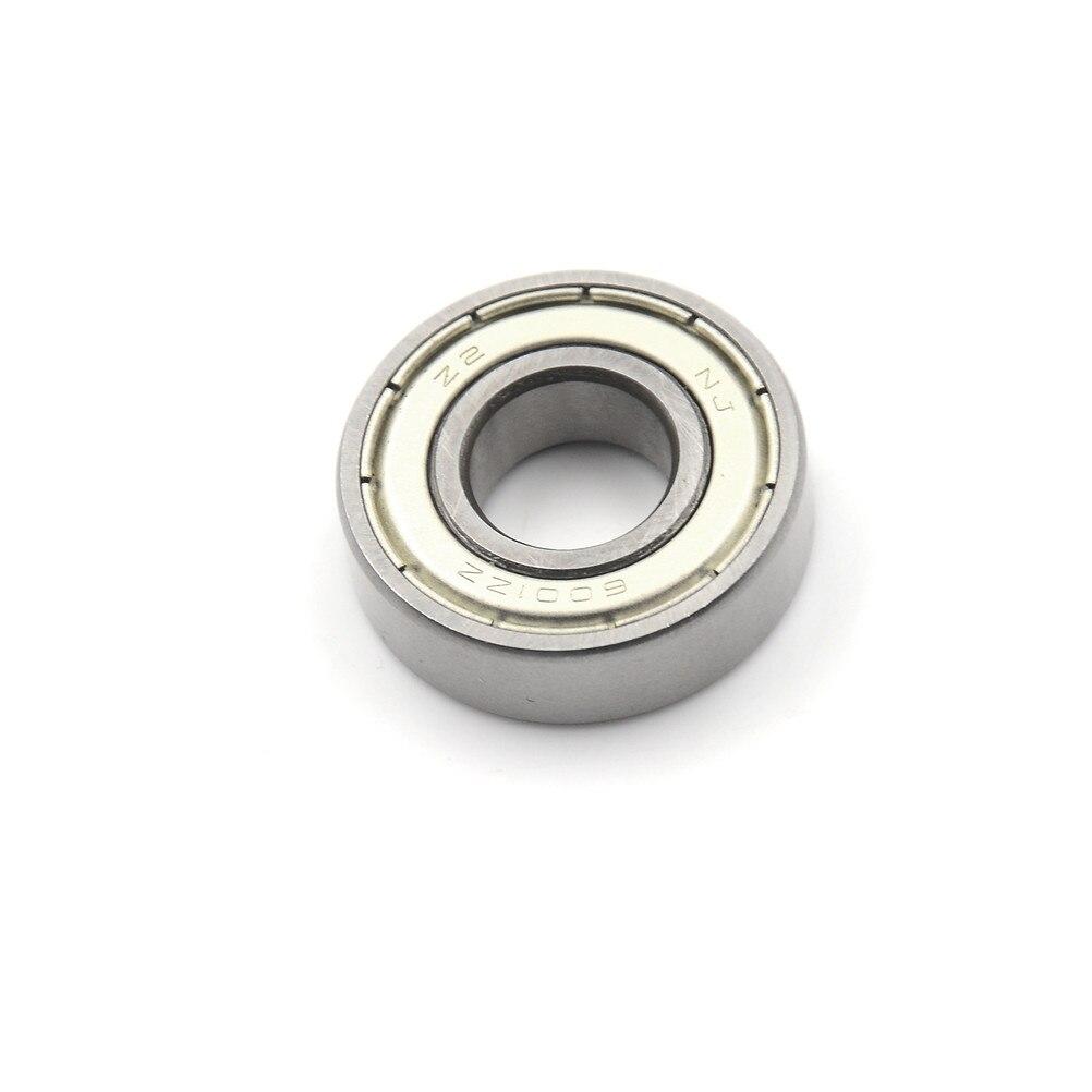 uxcell/® 10 Pcs 12x28x8mm Metal Shields Deep Groove Radial Ball Bearings 6001ZZ