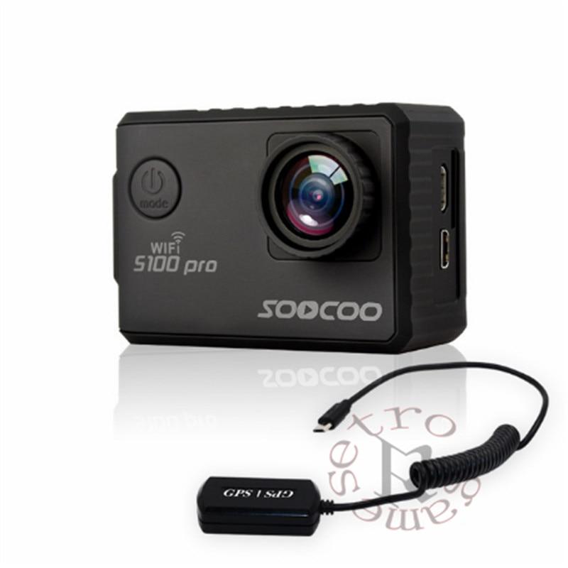 Modestil Soocoo S100 S100pro 4 Karat Uhd Wifi Sport 2 screen Gyro Gps Action Kamera Sport & Action-videokameras Unterhaltungselektronik optional: Voice Control Tonch Bildschirm, Fernbedienung
