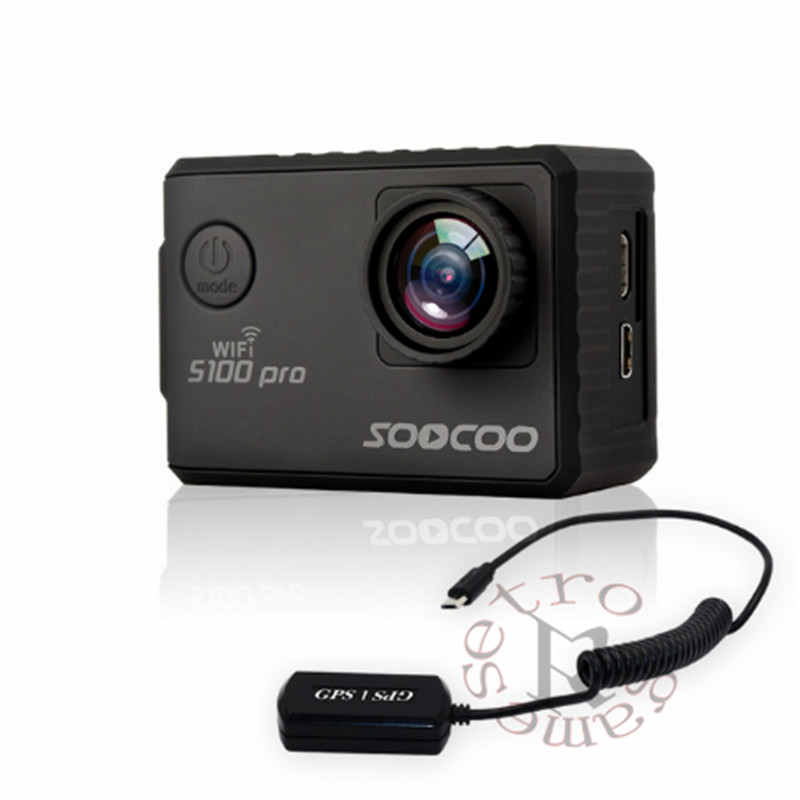 SOOCOO S100 S100PRO 4K UHD Wifi Sport 2 Screen Gyro GPS Action Camera ( Optional: Voice Control Tonch screen , Remote control) soocoo s100 pro 4k wifi action video camera 2 0 touch screen voice control remote gyro waterproof 30m 1080p full hd sport dv