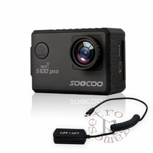 """SOOCOO S100 S100PRO 4K UHD Wifi Sport 2"""" Screen Gyro GPS Action Camera ( Optional: Voice Control Tonch screen , Remote control)"""