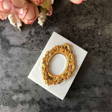 VOGVIGO хорошее границы Европейский рельефные силиконовые формы Fondant(сахарная) формованная рамка зеркала торт декоративное устройство для шоколада Gumpaste,# M207