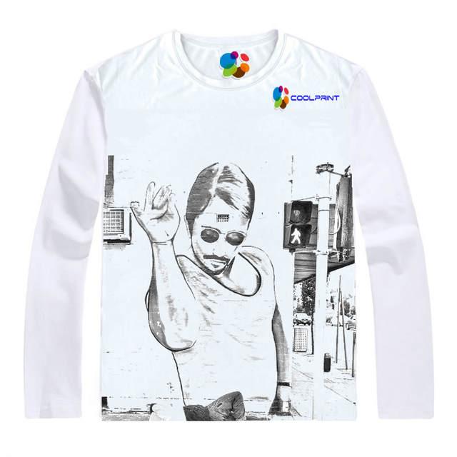 f0cde14658 placeholder Camisa Coolprint açougueiro Nusret Gokce Camisetas Multi-Manga  Longa estilo Turco Sal Bae SaltBae Cosplay