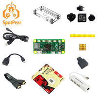 Raspberry Pi zero Pi0 Board Version 1.3 Linux with case Heatsinks SD card power OTG hdmi and so on