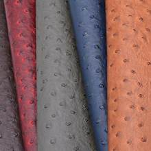 1 Meter Ostrich Pattern Thick Faux Leatherette Fabric Synthetic Leather For  Furniture Belt Tela Piel Sintetica 6bafbdc6b280