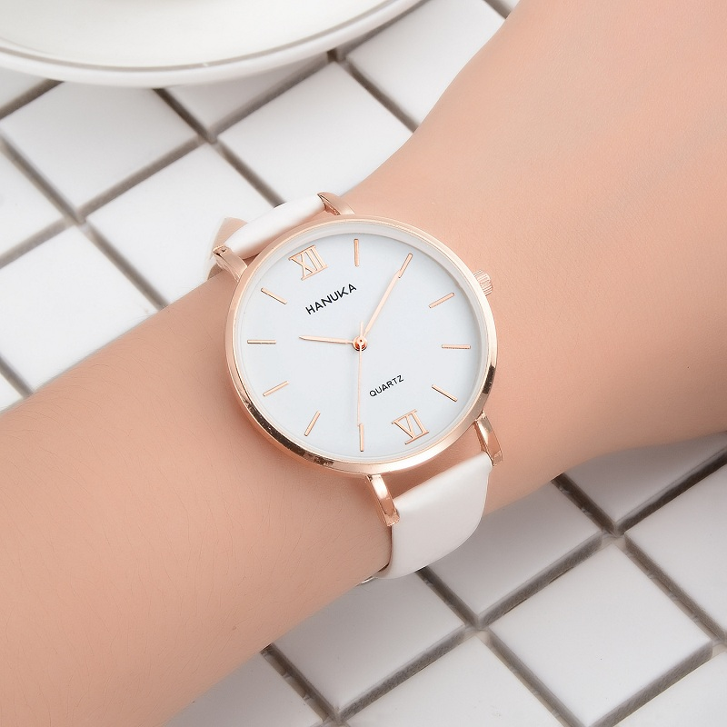 2019 New Temperature-sensitive Color Watch Women Fashion Rose Gold Roman Scale Leisure Timetable2019 New Temperature-sensitive Color Watch Women Fashion Rose Gold Roman Scale Leisure Timetable