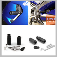 цена на For 2005-2006 Kawasaki Ninja ZX6R ZX6RR ZX 636 ZX-6R ZX-6RR ZX636 Frame Slider Crash Pad Falling Protection Motorcycle Parts