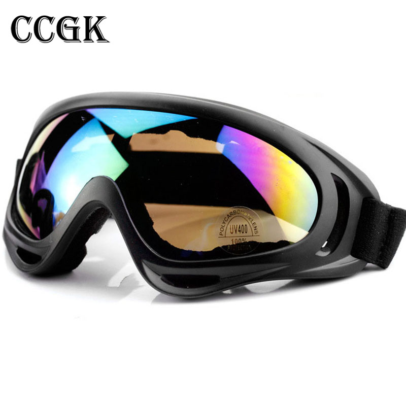 CCGK Safety Goggles Anti-shock Windproof Ski Goggles Tactical Eyewear Paintball Game Military Equipment Protection UV-Protection tactical outdoor war game uv400 protection goggles black yellow