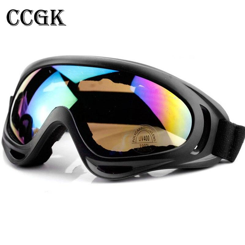 Ccgk Защитные очки анти-шок Ветрозащитный лыжные очки тактические очки игры в пейнтбол Книги о военной технике защита УФ-защиты