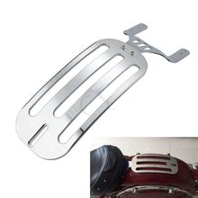 Chrome Solo Fender Luggage Rack For Indian Chieftain Chief 14-18 Roadmaster Springfield 16-18 Motorcycle
