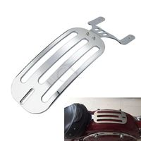 Chrome Solo Fender Luggage Rack For Indian Chieftain Chief 14 18 Roadmaster Springfield 16 18 Motorcycle