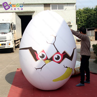 Airtight PVC Giant Inflatable Egg In Hot Sale Advertising Inflatable Eggs Balloon Egg Replica Inflatable Model