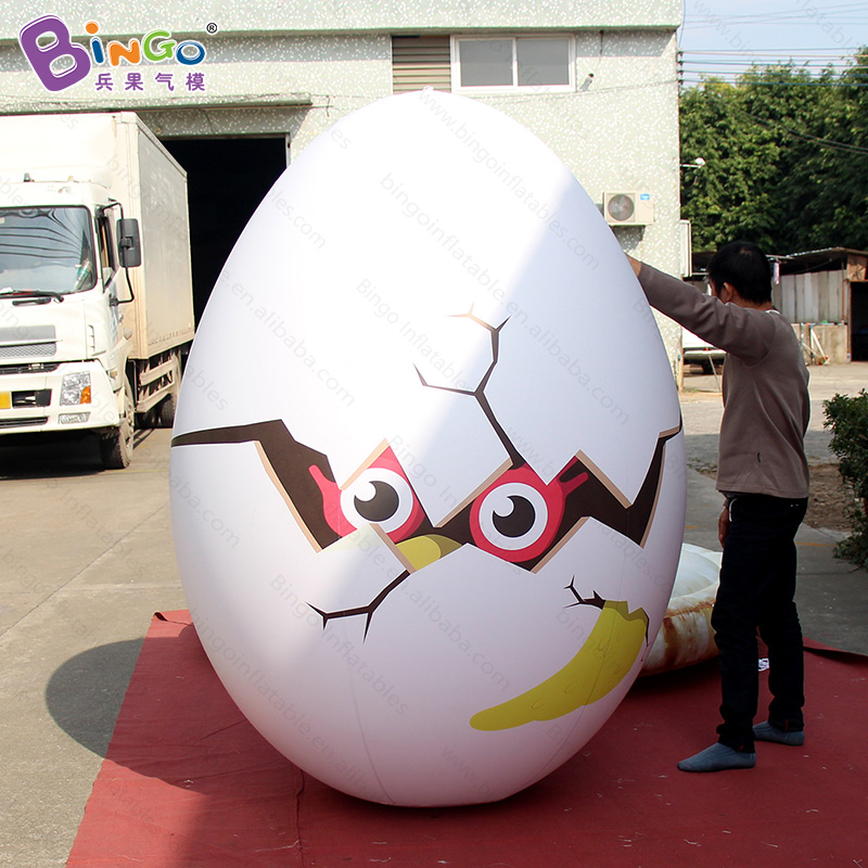 Airtight PVC Giant inflatable egg in hot sale, advertising inflatable eggs balloon egg replica inflatable model for easter event ao058h 2m helium balloon ball pvc helium balioon inflatable sphere sky balloon for sale