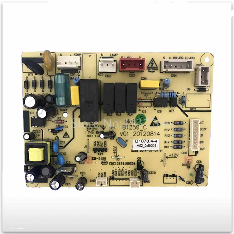 95% new frequency refrigerator computer board circuit board BCD450ZE9A 450ZE9N B1078 .4-4 computer board bd3931 automotive computer board