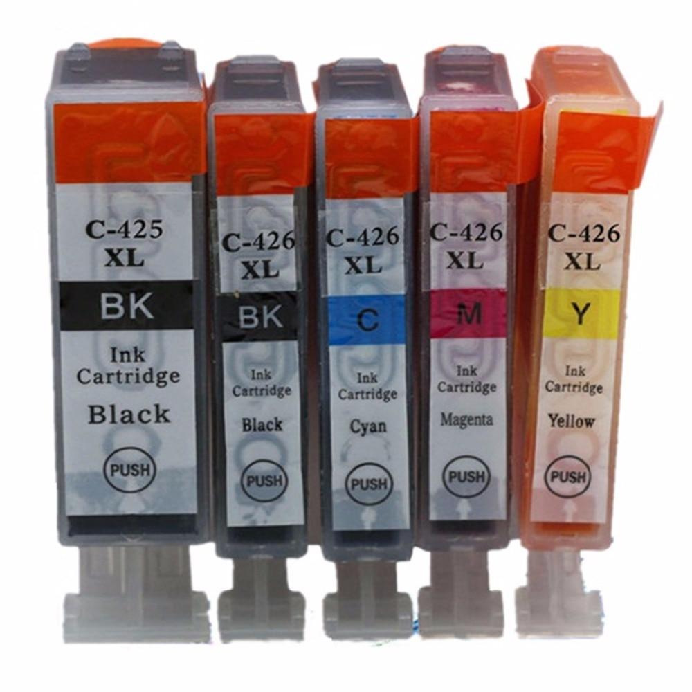Replacement Pgi 750 Cli 751 750xl Pgi750 Pgi750xl Canon Ink Cartridge Yellow Xl 25 X 425 426 425xl Pgi425 P