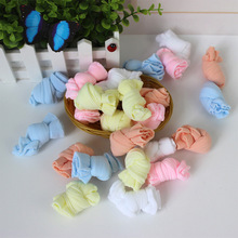 1 Pairs Children Cotton Socks for Girls Cute Candy Color Short Socks Spring Autumn Boy White Sport Socks Kid Solid Sock