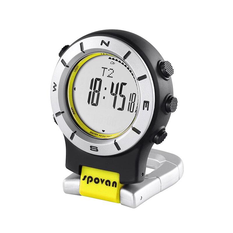 Spovan paquet montre pour hommes étanche numérique Sport montre militaire qualité pêche course casual horloge montre Reloj Hombre