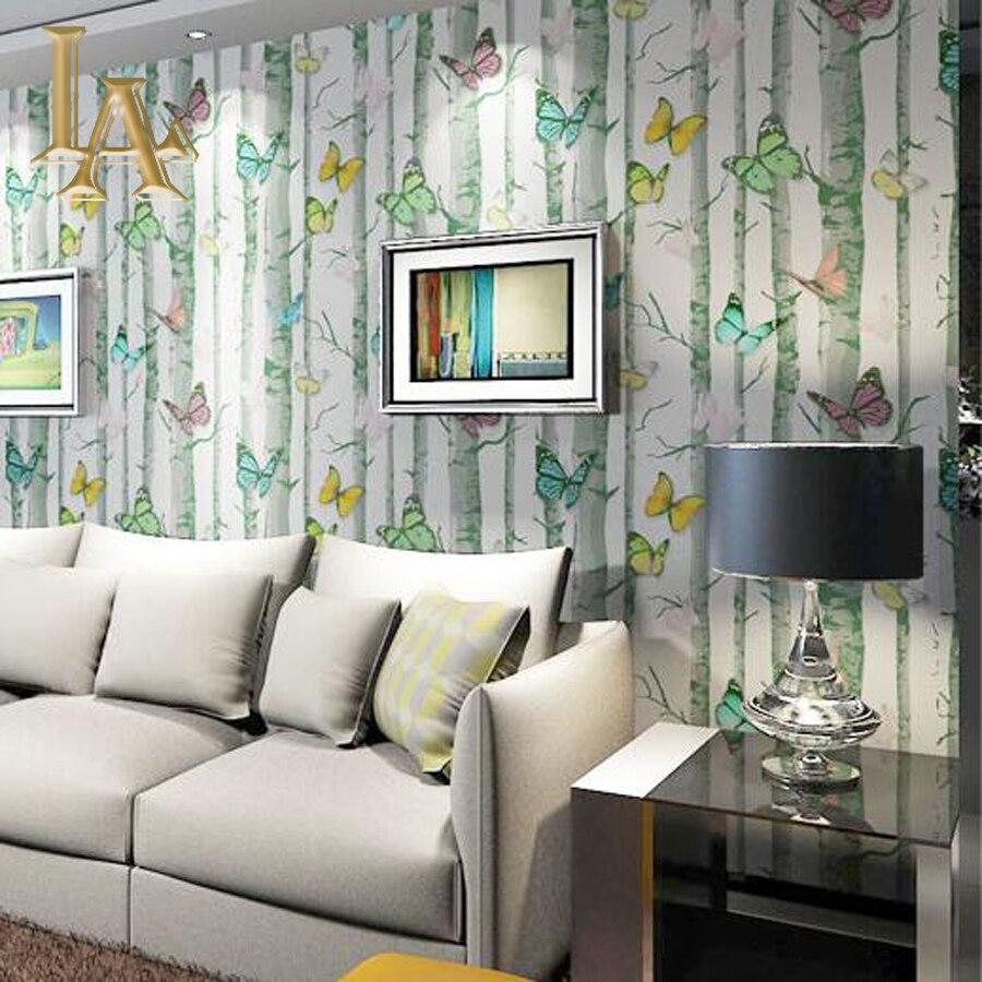 Online kopen Wholesale bos wallpaper uit China bos wallpaper ...