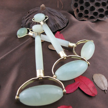 Pure Natural Jade Wheel Beauty Massage Wheel, Facial Free Shipping