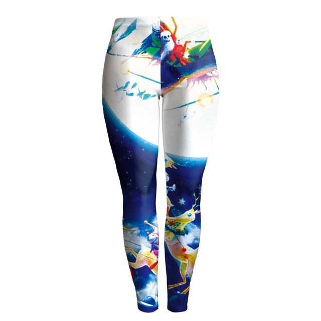 hot selling 3d printed nightmare before christmas legging womens high quality pants - Nightmare Before Christmas Leggings