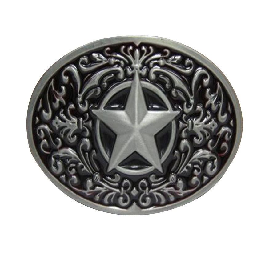 Black Star buckles mens designer belt buckles metal for jeans, women dress ( women pants, skirt, girls clothes, Kid clothes )