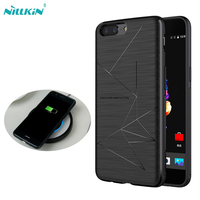 Newest Nillkin Qi Wireless Charging Receiver Case Cover For Oneplus 5 Power Charging Transmitter Compatible With