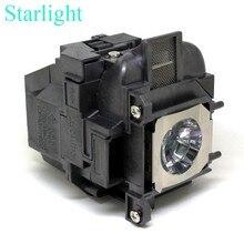 Compatible elplp88/v13h010l88 para epson powerlite s27 eb-s04 eb-945h eb-955wh eb-965h eb-98h eb-s31 lámpara del proyector