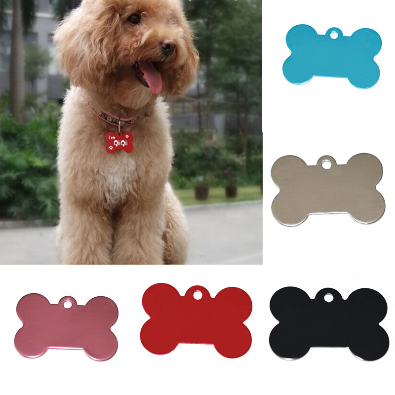 2pcs identification tags for dogs and cars bone shape. Black Bedroom Furniture Sets. Home Design Ideas