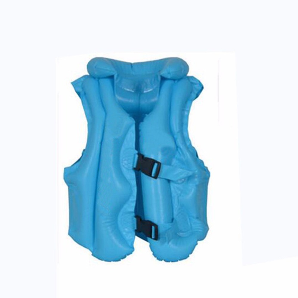 Summer Kids Children Float Life Jacket Vest Inflatable Swimming Wear Lifejacket Baby Toddler Safety Swim Pool Tool Accessories