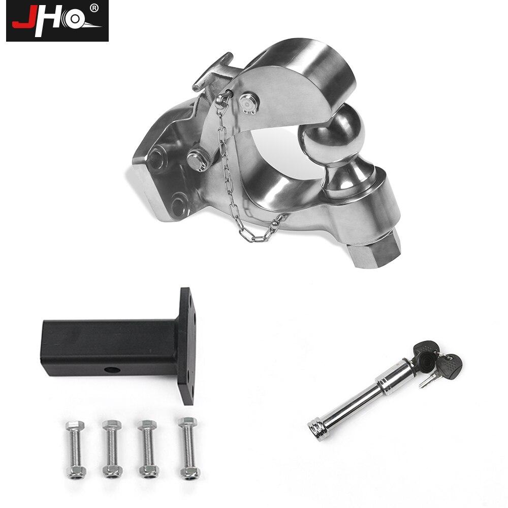 JHO прицеп для легковых автомобилей прицепное устройство мяч монтажный комплект для Ford Explorer Пневматическая Пружина для джипа Grand Cherokee, F150 крю
