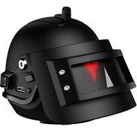 Latest Mini Portable Metal Bass Speaker Woofer In Helmet Design Micro Sound Box Loudspeaker For Xiaomi Huawei Iphone