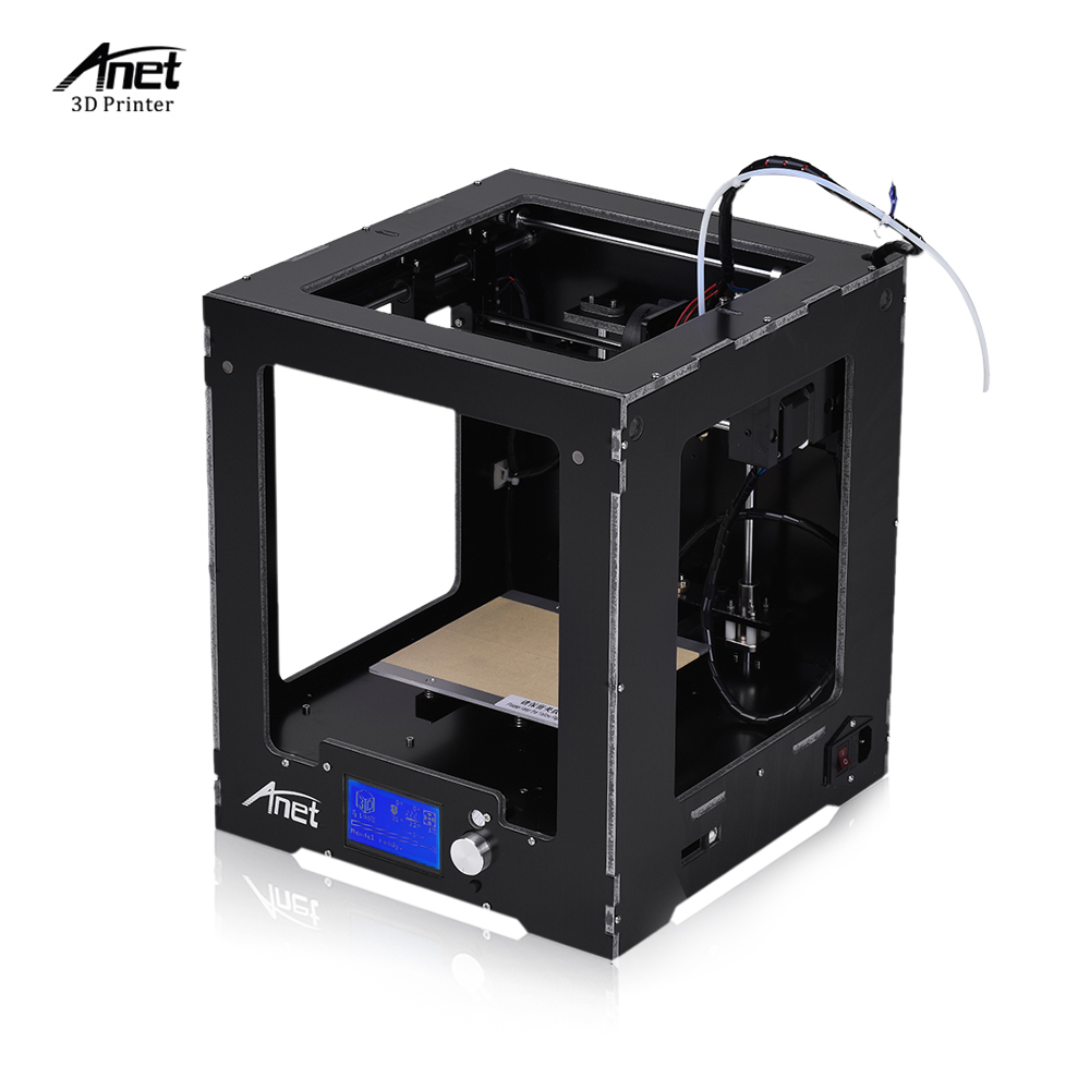 Anet A3-S Assembled Desktop 3D Printer Aluminum Plastic Frame High Precision Complete Machine with a 16GB TF Card anet high precision auto leveling 3d printer big size lcd 2004 220 270 220mm metal 3d printer kit with 10m filament sd card