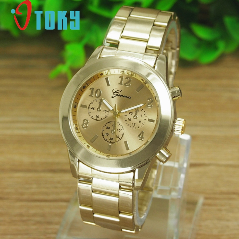 Excellent Quality 2016 Quartz Watches Men Women Luxury Brand Golden Watches Cock Male Famous Casual Watches Relogio Masculino