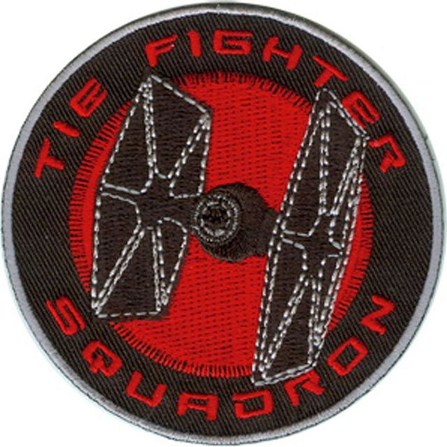 1 Pcs Star Wars Clone Tie Fighter Squadron Tv Movie Embroidered New Iron On And Sew On Cool Biker Vest Patch Military Badge by Ali Express