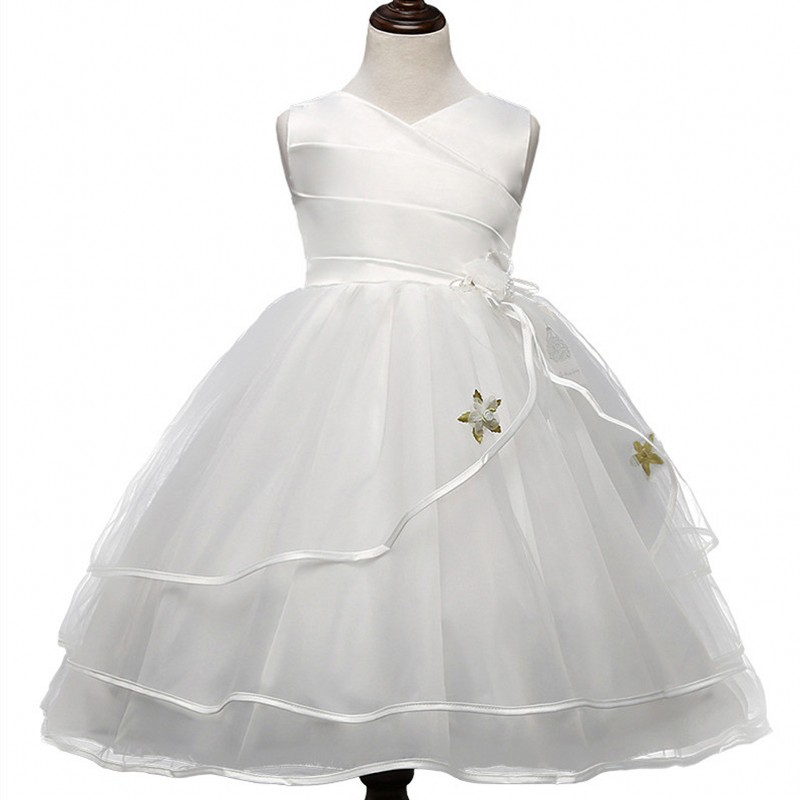 Подробнее о Formal Wedding Ball Gown Toddler Girl Tutu dress for girls clothes kids dresses Summer 2017 princess party girls dress Clothing new girls dress children clothing petals hem toddler girl dresses wedding formal party princess dress kids clothes for 3 8 yrs
