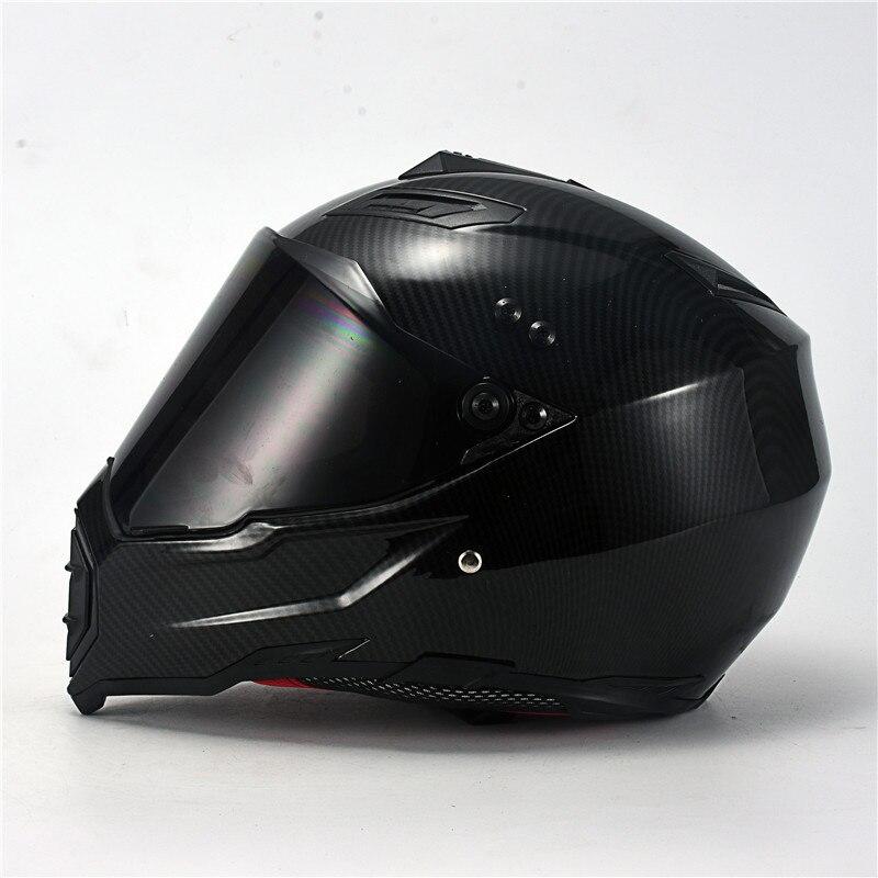 Casque intégral de Moto, casque de Motocross, pour la course, la descente, le requin, approuvé par point professionnel   AliExpress