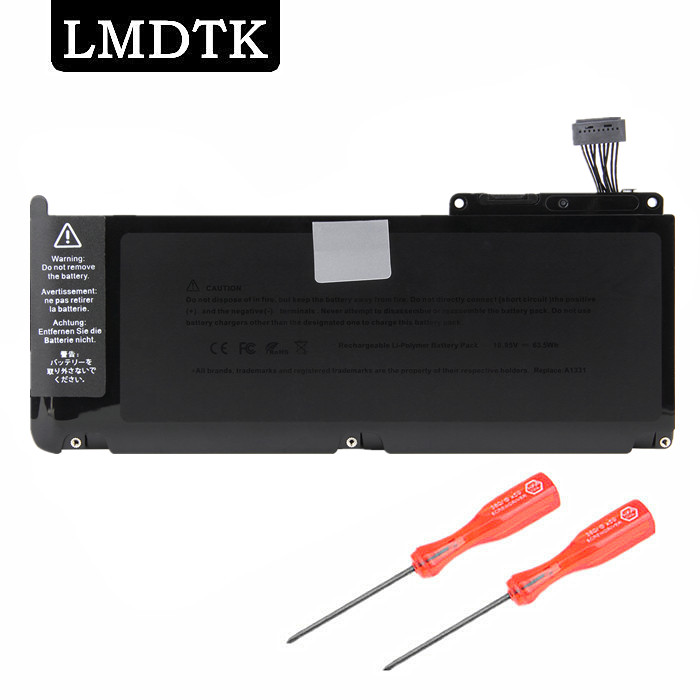 "LMDTK Nytt Bärbar Batteri för Apple MacBook 13.3 ""A1331 A1342 Unibody MC207LL / A MC516LL / A"