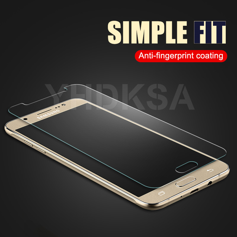 9H Tempered Glass on the For Samsung Galaxy J3 J5 J7 2015 2016 2017 J2 J4 J6 J8 Plus 2018 Screen Protector Protective Glass Film