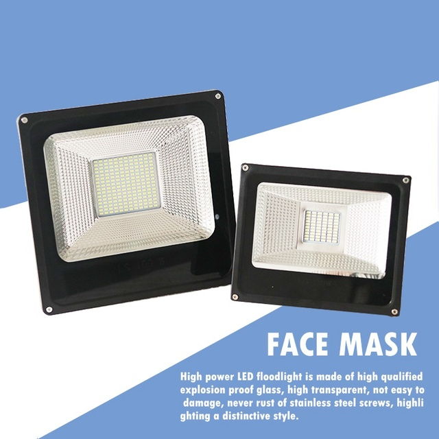 LED Flood Light  30W 100W Projector Reflector Wall Lamp Waterproof 220V Led Chip Floodlight Spotlight Outdoor Lighting