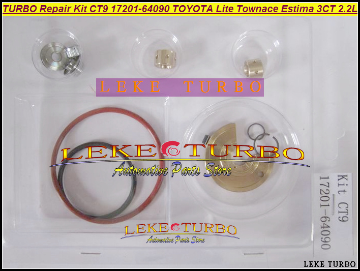 TURBO Repair Kits rebuild kit of CT9 17201-64090 Turbocharger For TOYOTA Lite Townace Town ace Estima Emina Lucida 3CTE 3CT 2.2L