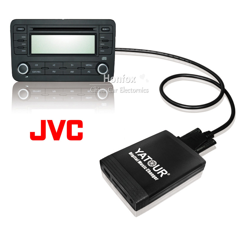 Yatour YT-M06 For JVC Headunits Car USB MP3  SD AUX adapter Digital CD Changer interface car usb sd aux adapter digital music changer mp3 converter for skoda octavia 2007 2011 fits select oem radios