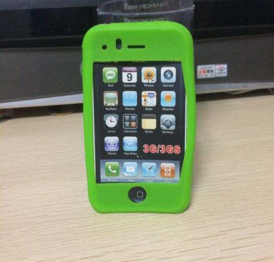Online Shop Custodia in silicone per iPhone 3G per il iphone 3GS