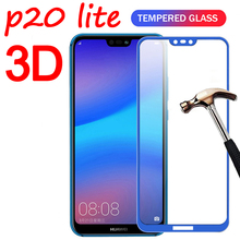 3D Full Cover Protector Glass For Huawei P20 Lite P20 Pro Screen Prote